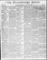 The Greensborough patriot [August 21, 1852]