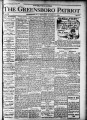 The Greensboro patriot [October 27, 1909]