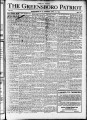 The Greensboro patriot [April 18, 1912]