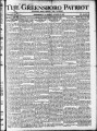 The Greensboro patriot [October 25, 1915]