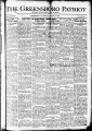 The Greensboro patriot [January 13, 1919]