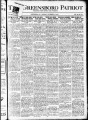 The Greensboro patriot [November 24, 1919]