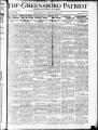 The Greensboro patriot [April 8, 1920]