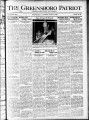 The Greensboro patriot [August 9, 1920]