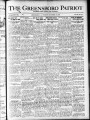 The Greensboro patriot [November 25, 1920]