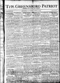 The Greensboro patriot [January 27, 1921]