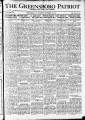 The Greensboro patriot [September 22, 1921]