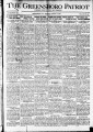 The Greensboro patriot [August 15, 1921]