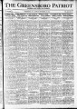 The Greensboro patriot [September 26, 1921]