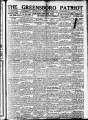 The Greensboro patriot [November 6, 1922]