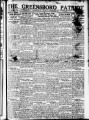 The Greensboro patriot [November 20, 1922]