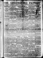 The Greensboro patriot [November 27, 1922]