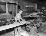 [Carpentry worker at Vick Chemical Co.]