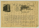 [Justice Drug Co. letter on letterhead]