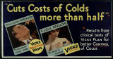 [Vicks advertising poster]