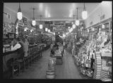 [Interior view of O. Henry Drug Store]