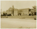 [Exterior view of St. Leo's Catholic Hospital]