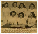 Newspaper clippings - St. Leo's Hospital (ca. 1947-1950)