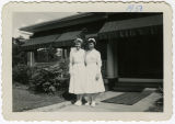 [Photograph of Jean Payne Rabie with another woman]