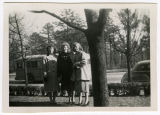 [Photograph of Jean Payne Rabie with two other women]