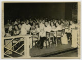 [Photograph of the 1950 junior-senior banquet]
