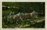 [St. Leo's Catholic Hospital postcard]
