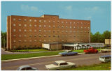 [Wesley Long Hospital postcard]