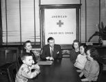 [Caldwell School students at the American Junior Red Cross]