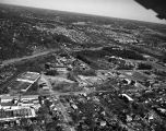 [Aerial view of Moses H. Cone Memorial Hospital site]