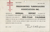 [Greensboro Tuberculosis Association annual report, 1962-1963]
