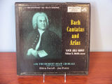 Bach cantatas and arias [record album cover]