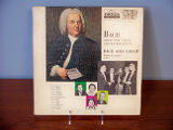 Bach arias for voices and instruments [record album cover]