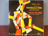 Carter Sonata for violoncello and piano [record album cover]
