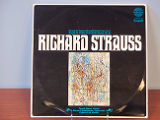 Richard Strauss: Sonate fur violoncello und klavier [record album cover]