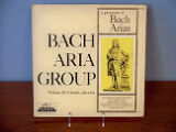 A program of Bach arias [record album cover]
