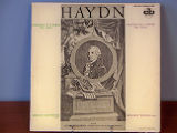 Haydn: concerto in D major for 'cello [record album cover]