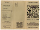 New College Summer music festival concerts
