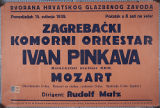 [Concert poster, 1939]