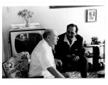 [Bernard Greenhouse with Pablo Casals in Puerto Rico]