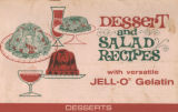 Dessert and salad recipes with versatile Jell-O gelatin