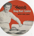 "The Monarch electric ""deep-heet"" cooker with side heat"