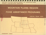 Mountain Plains food assistance programs : fiscal year 1984