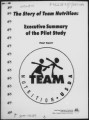 The story of Team Nutrition executive summary of the pilot story : final report