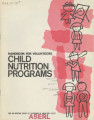 Handbook for volunteers, child nutrition programs