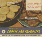 Two old time cookie jar favorites  made in the southern tradition with Red Band flour