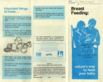 Breast feeding : nature's way to feed your baby