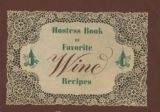 Hostess book of favorite wine recipes
