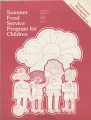Summer Food Service Program for Children: Food Service Management Company Handbook