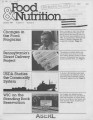 Food & Nutrition [Volume 11, Number 5]
