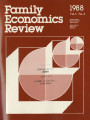 Family Economics Review [1988, Volume 1, Number 4]